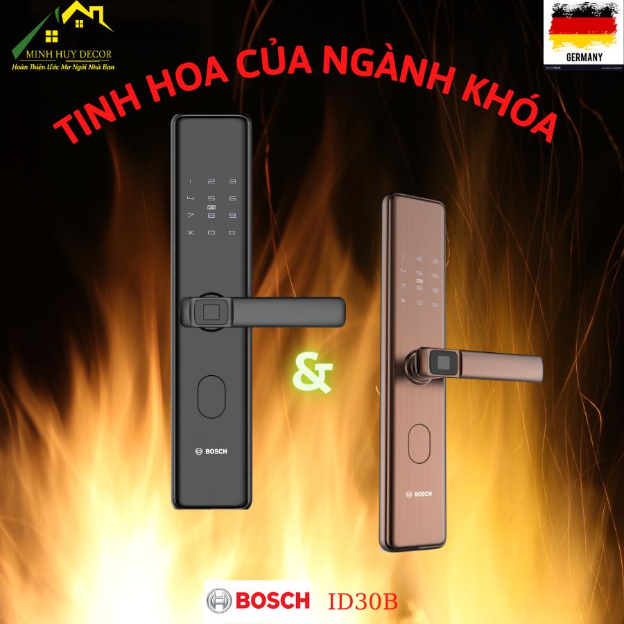 Khóa vân tay Bosch ID-30B