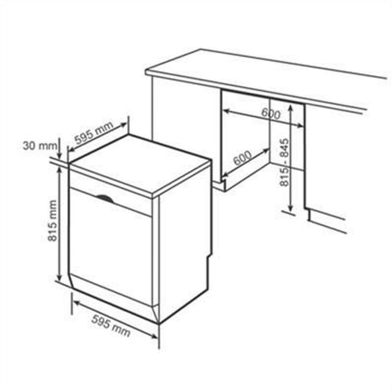 Máy rửa chén độc lập BOSCH SMS6ZCI49E |Serie 6